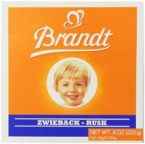 Brandt Zwieback, 8-Ounce Boxes (Pack of 10) - http://handygrocery.org/grocery-gourmet-food/baby-foods/baby-crackers-biscuits/brandt-zwieback-8ounce-boxes-pack-of-10-com/