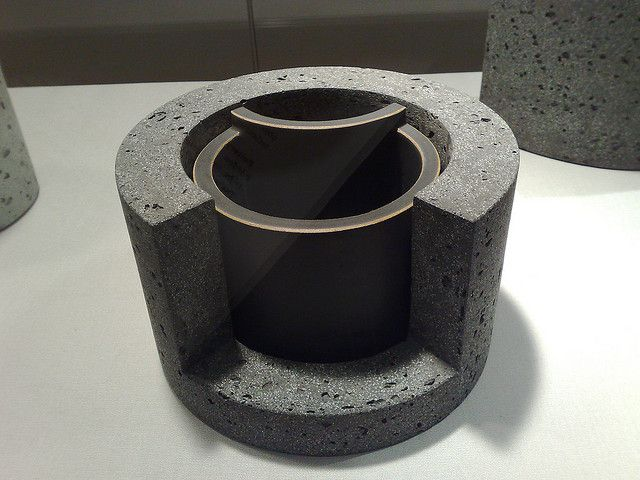black - ceramic - Wim Borst