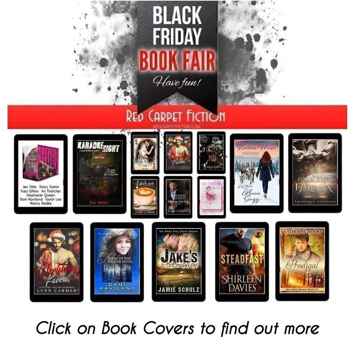 Black friday is here get to know some amazing authors