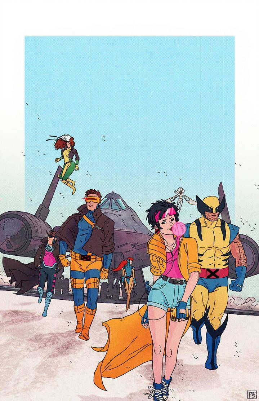 X Men 92 By Paulreinwand X Men Marvel Comics Comics