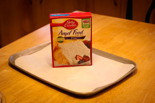 Angel Cake Mix Jelly Roll