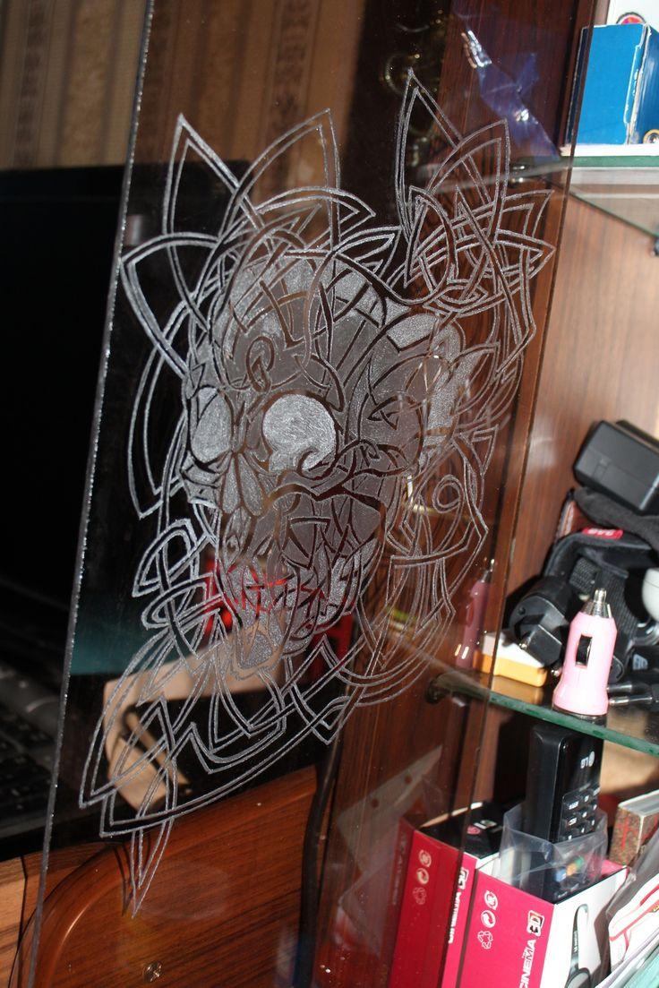 гравировка по стеклу
