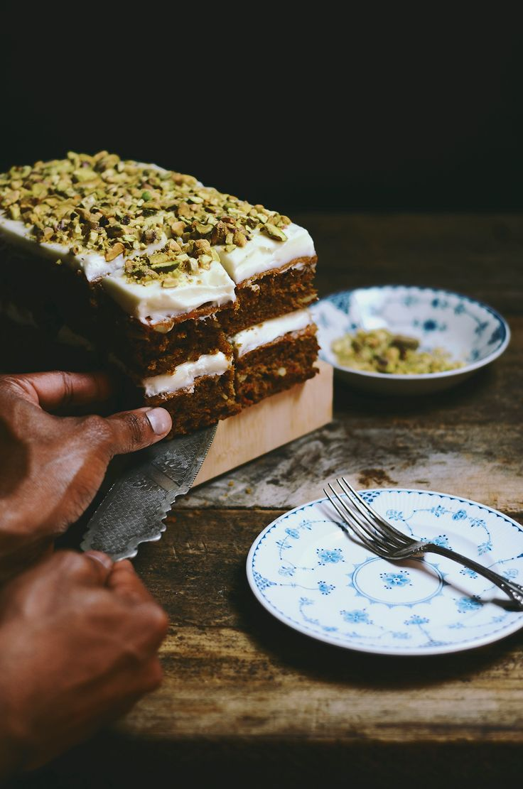 Who thought masala chai carrot cake would work? The amazing @abrowntable, that's who.