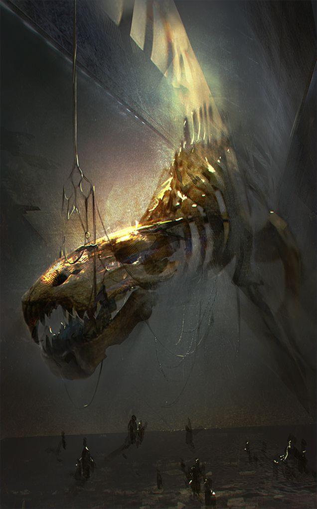 Dragon by Natalia Milushko | Fantasy | 2D | CGSociety via cgpin.com
