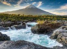 Petrohué and the Osorno volcano