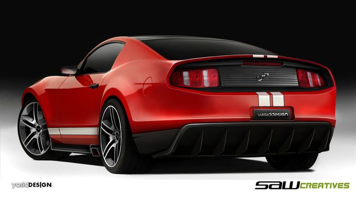 2014 Ford Mustang Concept Car Design