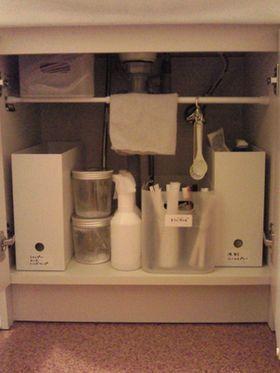 洗面所の収納テクニック【画像集】 - NAVER まとめ