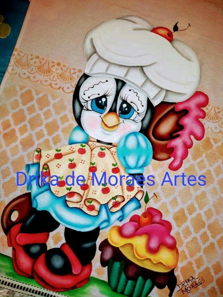 Pin de susana llerena em Diseños para pintar | Pinguins
