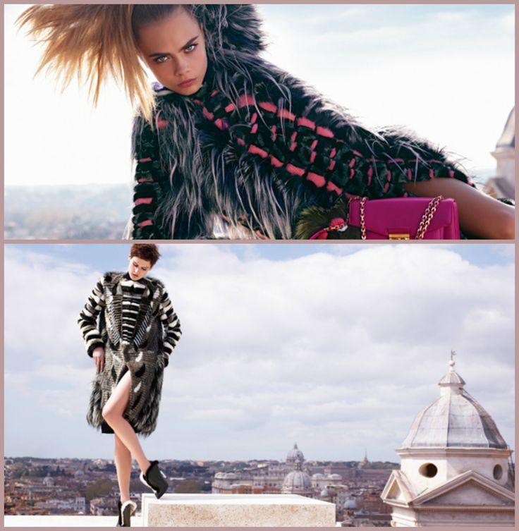 Yılın en popüler modeli Cara Delevinge ve Saskia de Brauw'un rol aldığı Fendi kampanyası Karl Lagerfeld tarafından Roma semalarında çekildi. Daha fazlası için Markafoni Blog'a göz atın ;) #fendi #markafoni #blog #caradelivinge #style #stylish #look #bestoftheday #rome #model #girl #beautiful #celebrity #karllagerfeld #instafashion