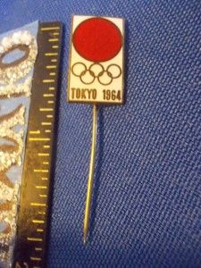1964 Tokyo Olympic Poster Pin