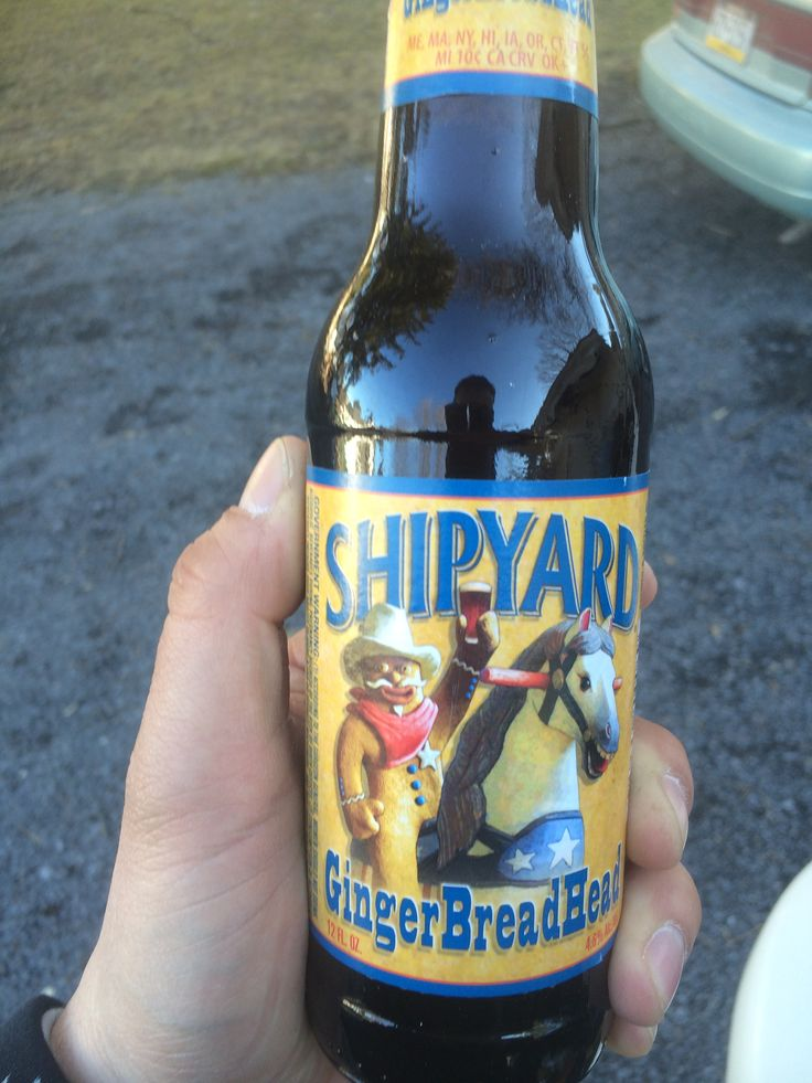 GingerBreadHead Shipyard Brewing Co 36 best Great