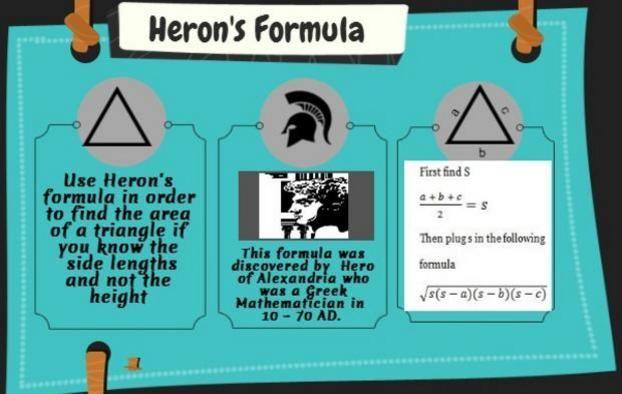 Formula for triangle