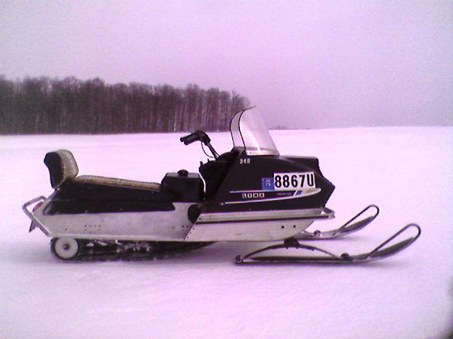 My 1971 Artic Cat Lynx 340 My Dad Bought It Brand New