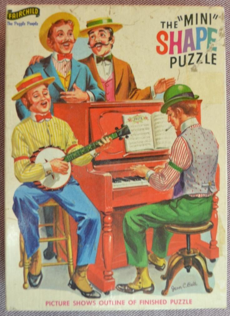 vintage crossword puzzles