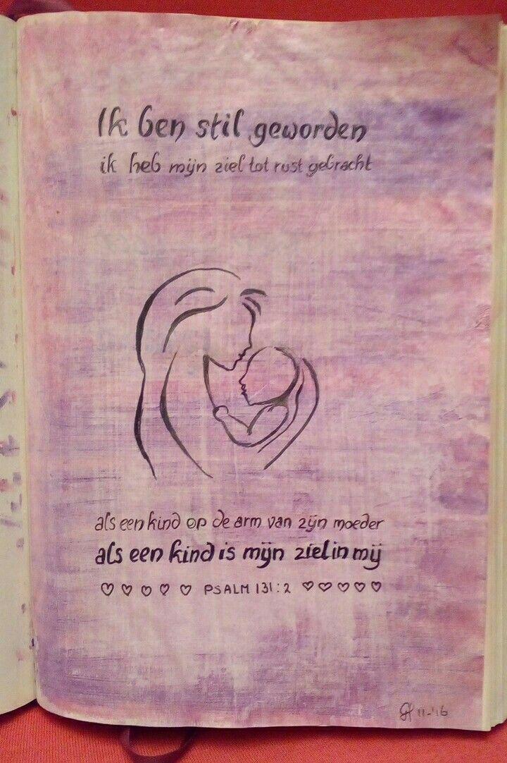 Bijbeljournal Psalm 131:2