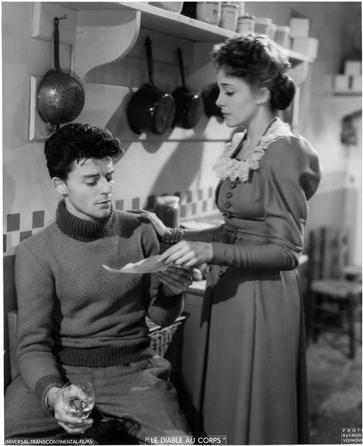 Gérard Philippe, Micheline Presle - Le diable au corps (Claude Autan Lara, 1947)
