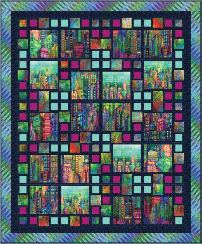 17 best Hoffman Skyline images on Pinterest   Bags, Baskets and ... : hoffman free quilt patterns - Adamdwight.com