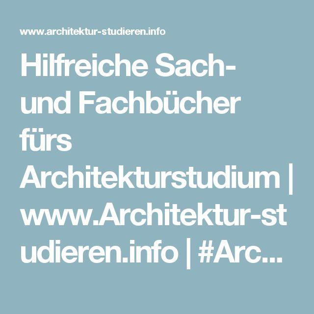 51 best architekturstudium architecture school in for Architektur studieren info