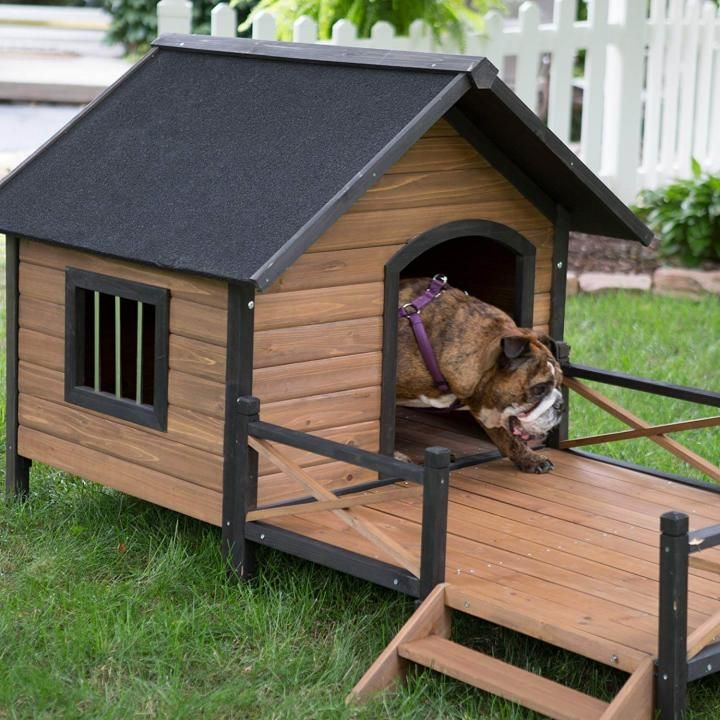 5 Simple Dog Homes For Outdoors And Indoors Dog House Diy Outdoor Dog House Large Dog House