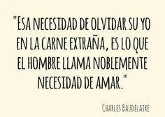 Frases Charles Baudelaire