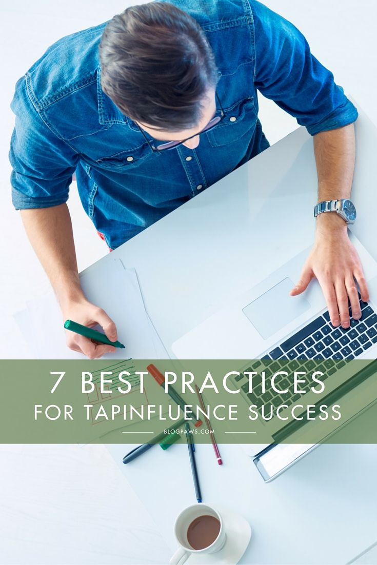 7 Best Practices for TapInfluence Success 17