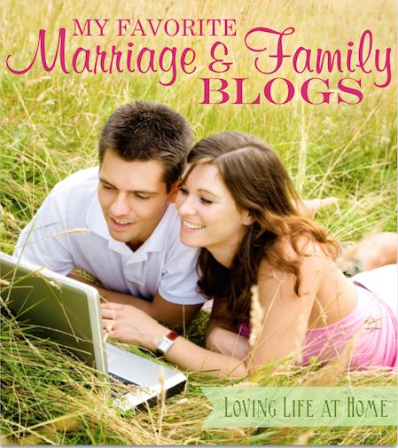 """Living """"happily ever after"""" takes work. These marriage and family bloggers serve up regular doses of wisdom and encouragement to help you along the way."""