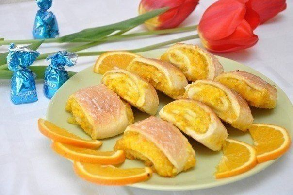 Soft orange cookies-simply delicious!