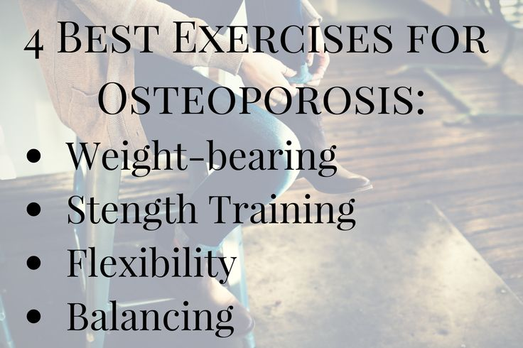 The word osteoporosis means porous bones. It is the most common type of bone disease and is estimated to affect about one in every five American women over the age of 50. Whether your focus is prevention or coping with osteoporosis, regular exercise boosts peak bone mass, reduces your risk for fractures and helps strengthen your muscles.
