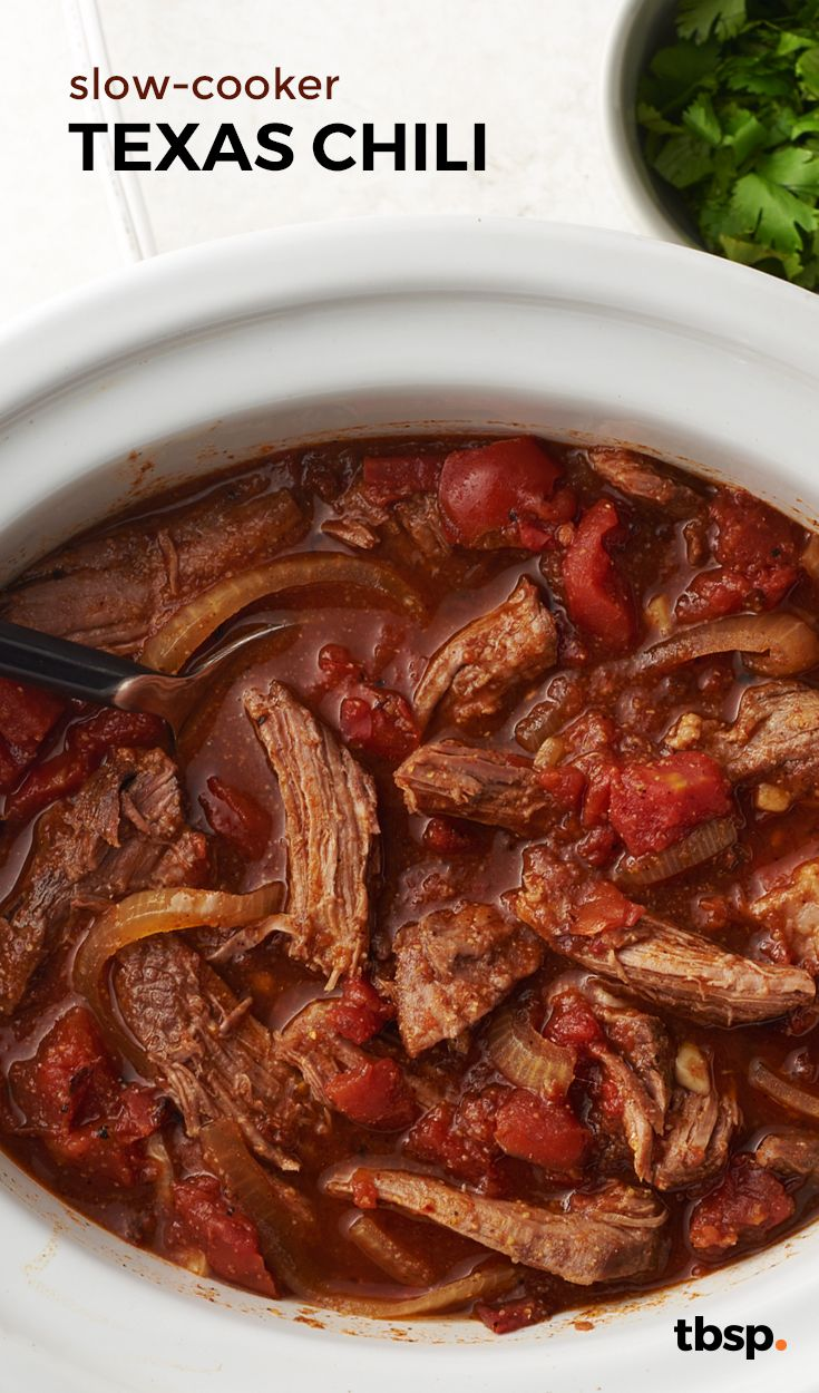 If you're searching for a chili chock-full of beans, look elsewhere. This is Texas chili, and with this much beef and heat, there's just no room for beans!