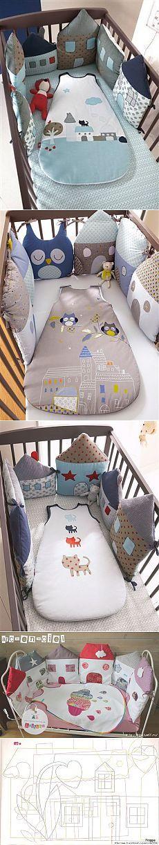 Идея для наших мастериц. Подушки-игрушки для детской кроватки | Наш дом