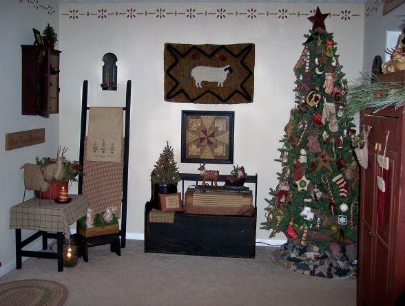 17 best images about primitive living room on pinterest for Primitive decorating ideas for living room