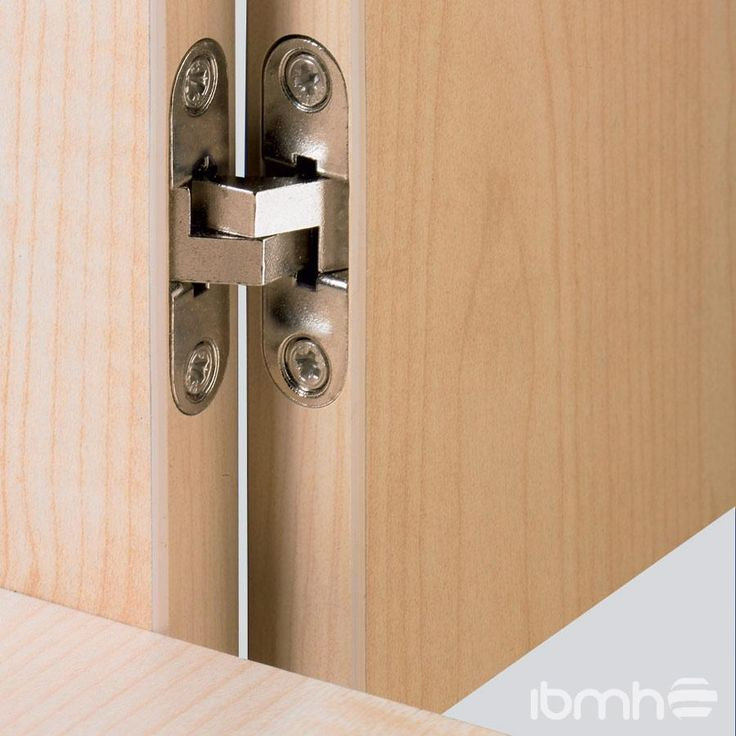 Top 25 ideas about concealed door hinges on pinterest - Hidden hinges for exterior doors ...