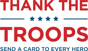 Thank the troops - send a card to every hero