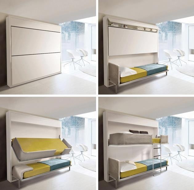 Kids Beds For Small Spaces 133 best boys room ideas images on pinterest | nursery, 3/4 beds