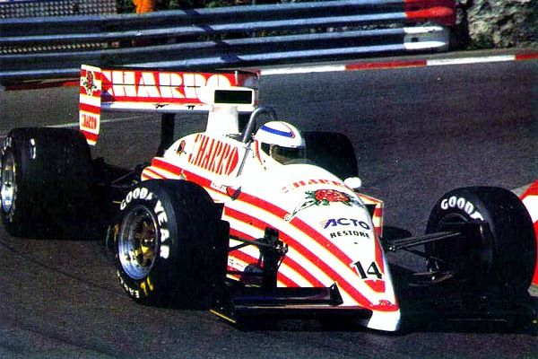 1987 AGS JH22 - Ford (Pascal Fabre)