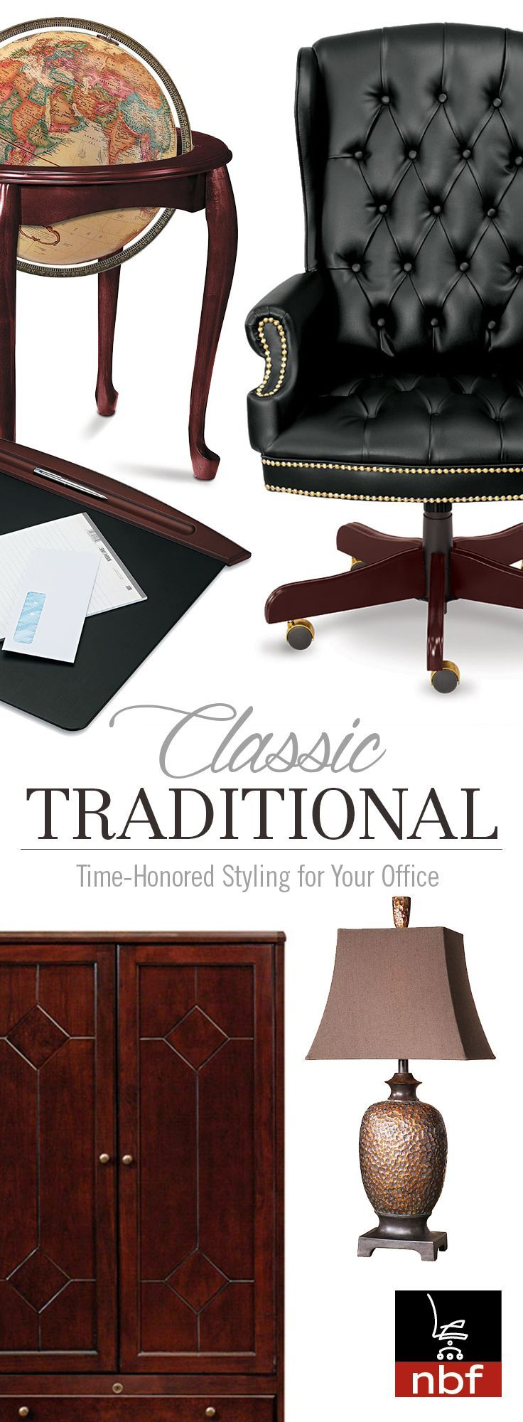 Classic Traditional Office Furniture - Time-Honored Styling for Your Office