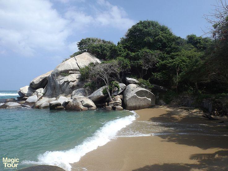 Playas de Cabo San Juan #TayronaPark #Beach #Jungle #LandScape #Nature #WeLoveTravel