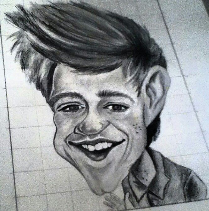 Niall Horan caricature