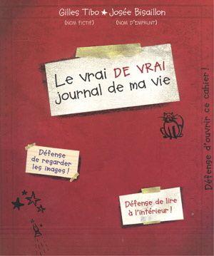 Le vrai de vrai journal de ma vie, par Gilles Tibo (illustrations de Josée Bisaillon) 7-10 ans. Dans le journal de Marilou elle se confie sur TOUT - l'amitié, la guerre, la joie, les peurs, la déception... Beaux textes mais format un peu étrange.