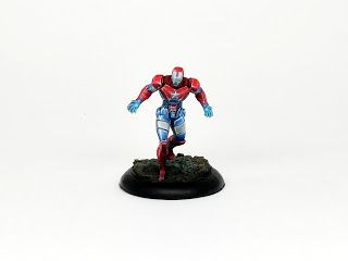 Painting tutorial for Iron Patriot, Knight models
