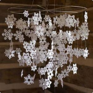 Процесс изготовления снежинок на окна: легче не придумаешь
