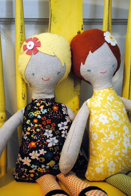 DIY Dolls - this is awesome!