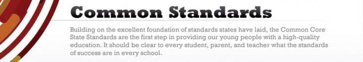 Links are provided for each of the Grade 6 Common Core State Standards  for Math.