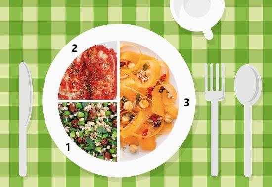 Piatto unico: nastri di carote, insalata di orzo e pollo