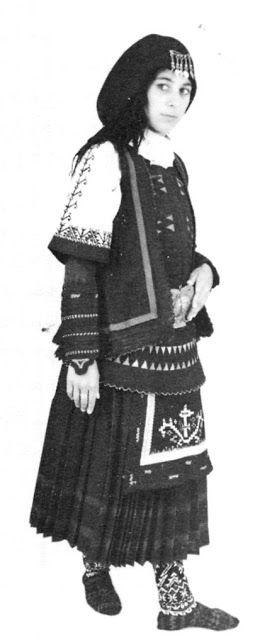 Costume of the Sarakatsani or Karakachani, Greece