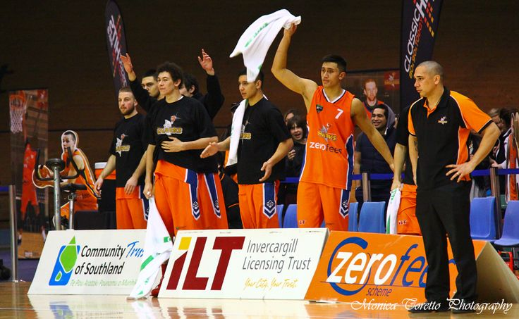 Celebration from the bench while Coach Paul Henare looks on. Stadium Southland, June 21, 2013. Southland Sharks v Otago Nuggets. Southland Sharks 115 - 67 Otago Nuggets.