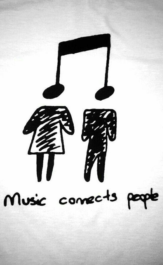 Lassen Sie uns umarmen, welche wunderbaren Verbindungen Musik liebevoller, fürsorglicher und