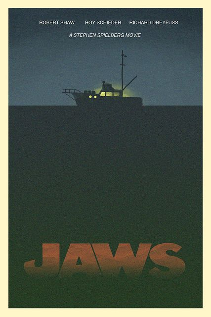 jaws poster | Jaws Poster #01 - Sketch | Flickr - Photo Sharing!