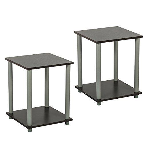 Edencomer FSC Certified Square End Table Simplistic Home Furniture