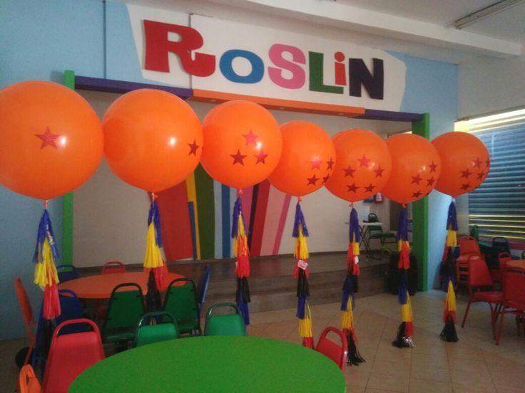 Esferas del dragón 🐲 Dragon Ball #globos #balloons #jumbo #gigante #party #fiesta #globosdádiva #esferas #globote #globotote #celebrate #felicidades #felizcumpleaños #felizcumple #dragonball